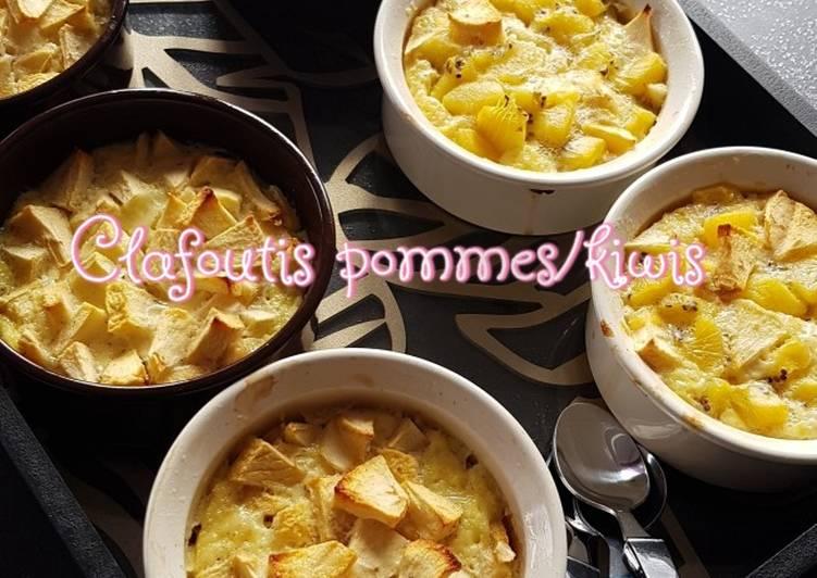 Comment Préparer Des °Clafoutis pommes/kiwis°