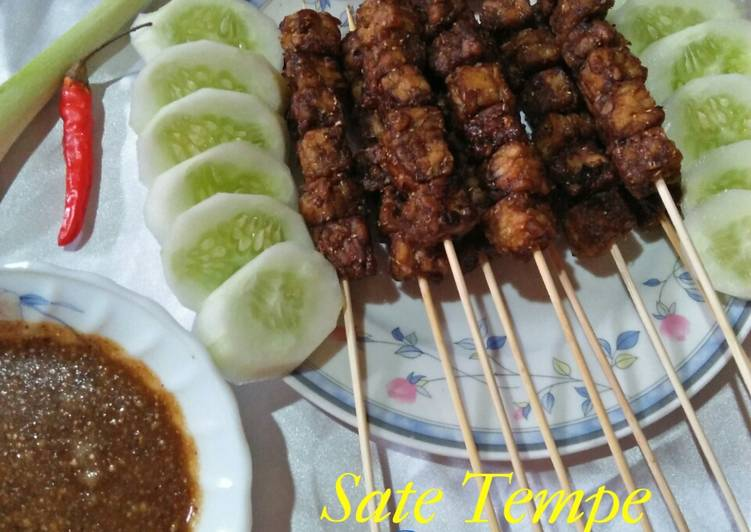 Sate Tempe Vegetarian