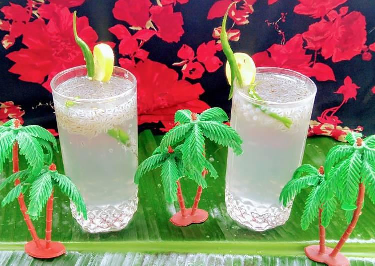 How to Make Quick Kulukki sharbat (Kerala special drink)