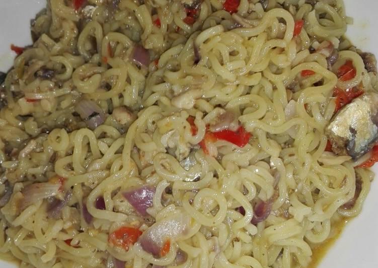 Tasty indomie noodle