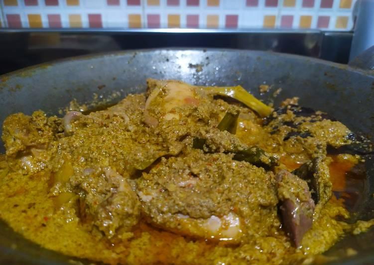 Resep Rendang Ayam, Sempurna
