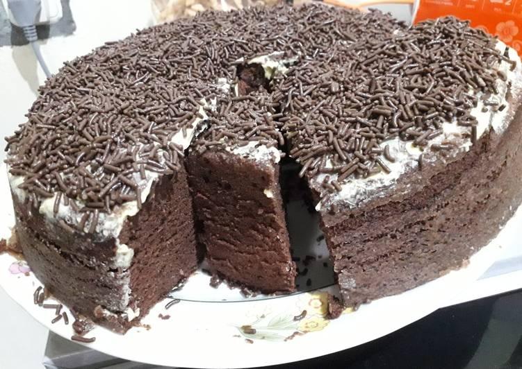Brownies coklat kukus