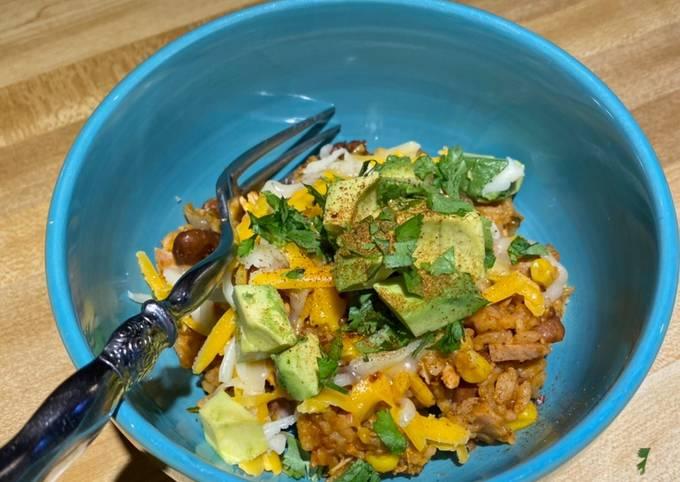 Chef Miguel's InstaPot Chicken Enchilada Rice Bowl