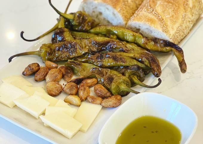 Italian Roasted Long Hots and Garlic