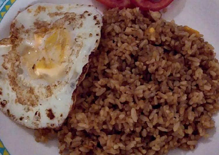 Nasi goreng polos ala chinese food resto