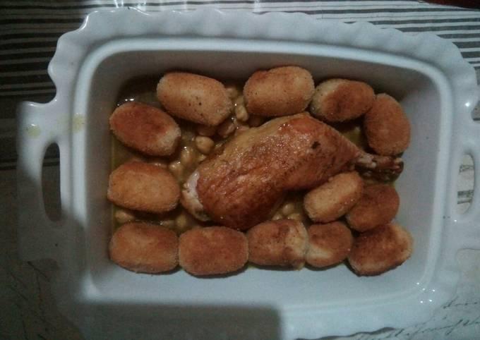 Croquettes de riz au poulet 🇩🇿