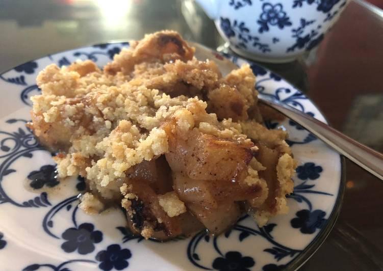recette Crumble Pomme Poire Le plus simple