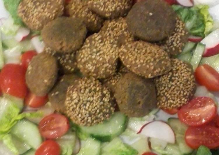 Comment faire Préparer Appétissante Recette authentique syrienne de Falafels