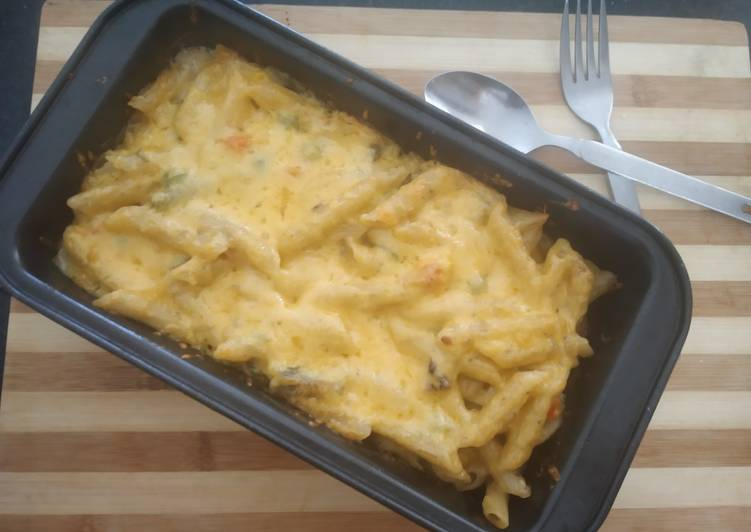 Steps to Make Top-Rated Creamy Tasty Baked Pasta