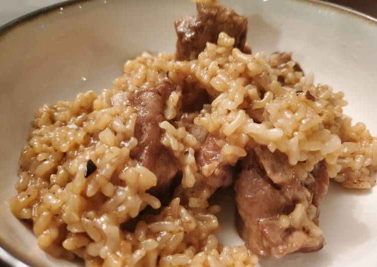 Easiest Way to Make Any-night-of-the-week Chinese Spare Ribs and Rice (Instant Pot)