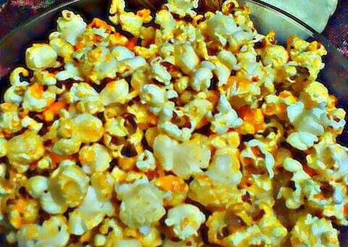 Recipe of Homemade Sriracha Popcorn