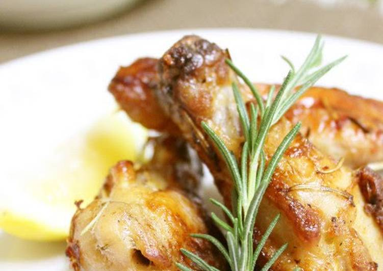 Foods That Can Make Your Mood Better Rosemary Flavoured Roasted Chicken Drumettes