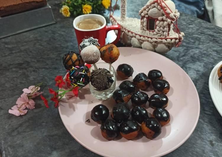 Mini chocolate Donuts balls