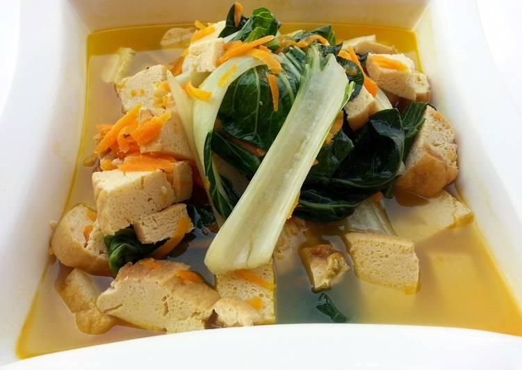 Tofu And Bak Choy Vegan  In 5 Minute