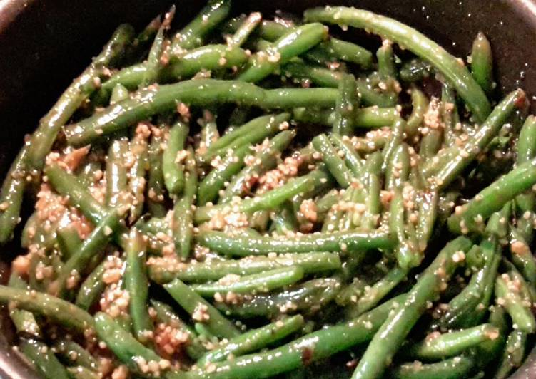 Recipe of Any-night-of-the-week Spicy Green Beans