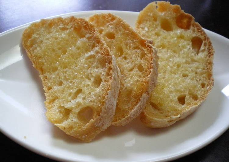 Miso French Bread Made in a Bread Machine