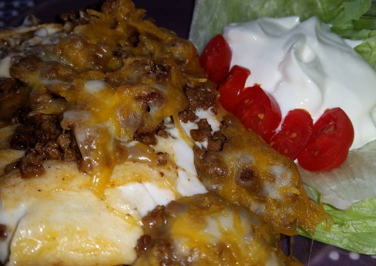 How to Prepare Favorite Creamy Burrito Casserole