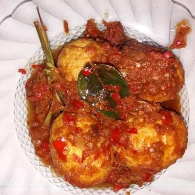 Resep Telur Balado Telur Bumbu Merah Oleh Yessi Qhorie Cookpad
