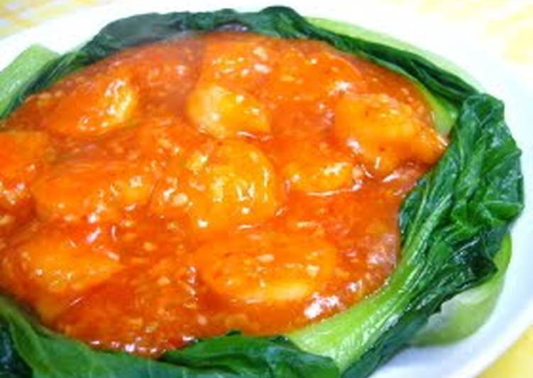 Easy and Authentic Shrimp With Chili Sauce, Finding Healthful Fast Food