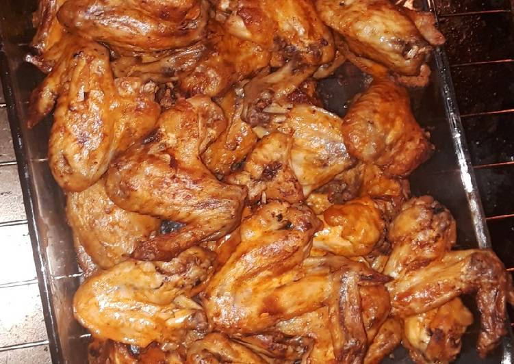 Perfect wings! Airfryer and instapot recipe