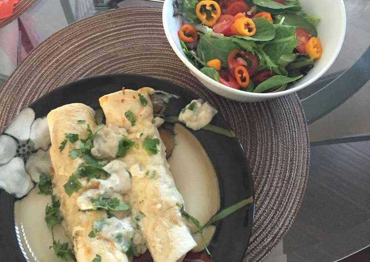 Choosing The Right Foods May Help You Stay Fit As Well As Healthy Chicken Lime Enchiladas