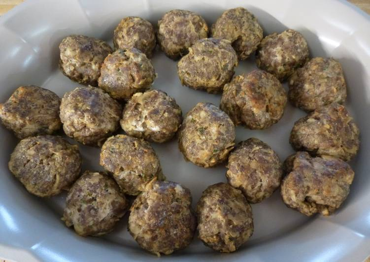 Recipe of Ultimate Easy Italian Meatballs With A Twist