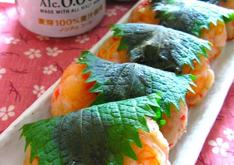 Choosing The Right Foods Will Help You Stay Fit As Well As Healthy Shrimp in the Style of Sakura Mochi