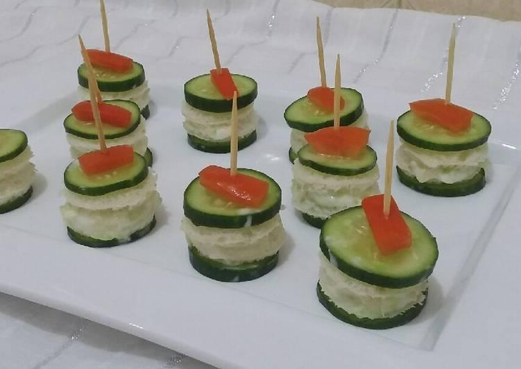 Cucumber Bite Sandwiches