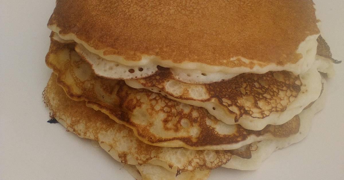 Basic pancakes (without baking soda)