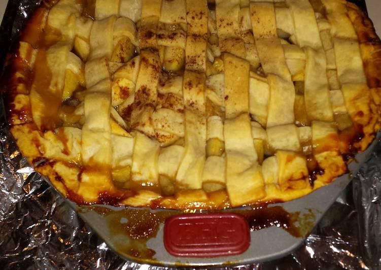 Tricia's Apple Pie - sugar free not taste free