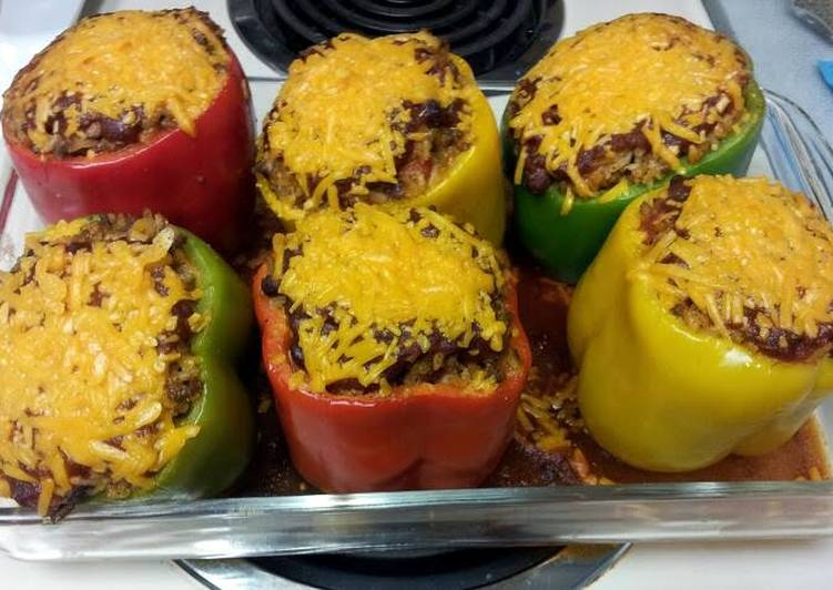 Recipe of Top-Rated Stuffed bell peppers