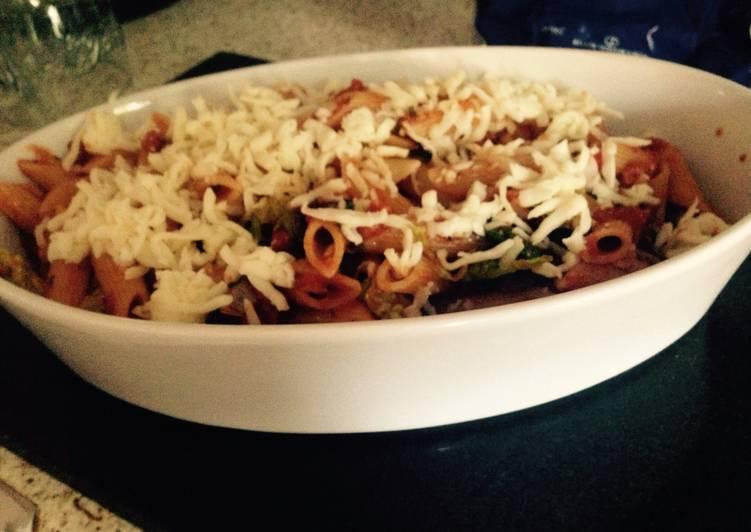 Recipe of Speedy Chorizo Sausage And Tomato Pasta 😀