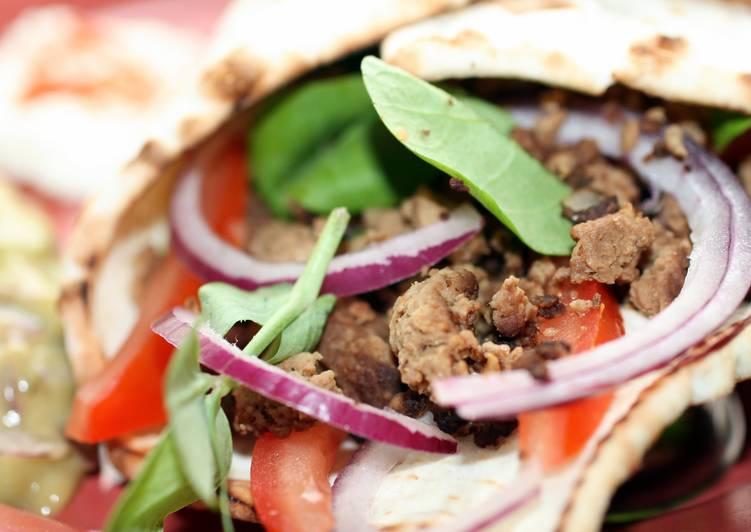 Recipe of Homemade sig's  Vegetarian Soft Taco Cone