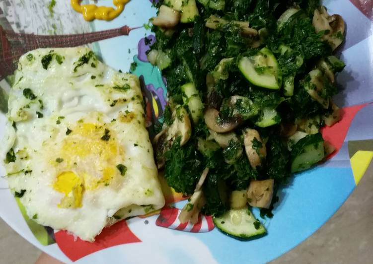 New Secret Spinach zucchini and mushrooms stir fry Free Download