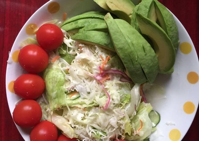 Simple Vegetable salad