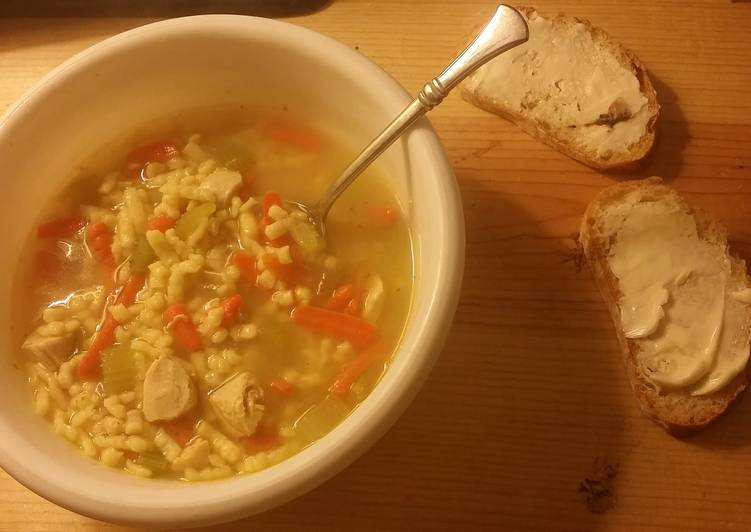 Chicken Spaetzle Soup (EASY 30 Minute Meal)