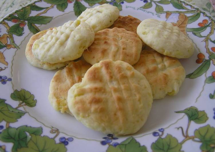 Filling Asian Sweet Potato Cookies