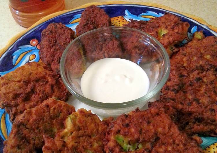 Foods That Can Make You Happy Zucchini Pancake Fritters