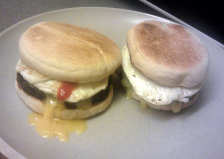 Mc breakfast muffin, available all day :-)