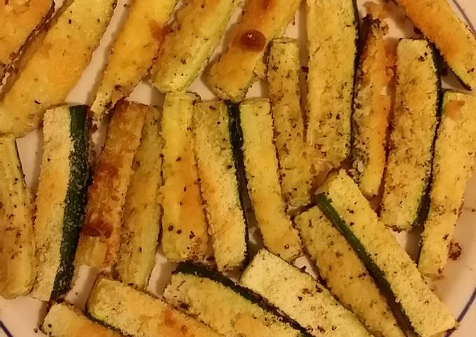 Taisen's parmesan baked zucchini