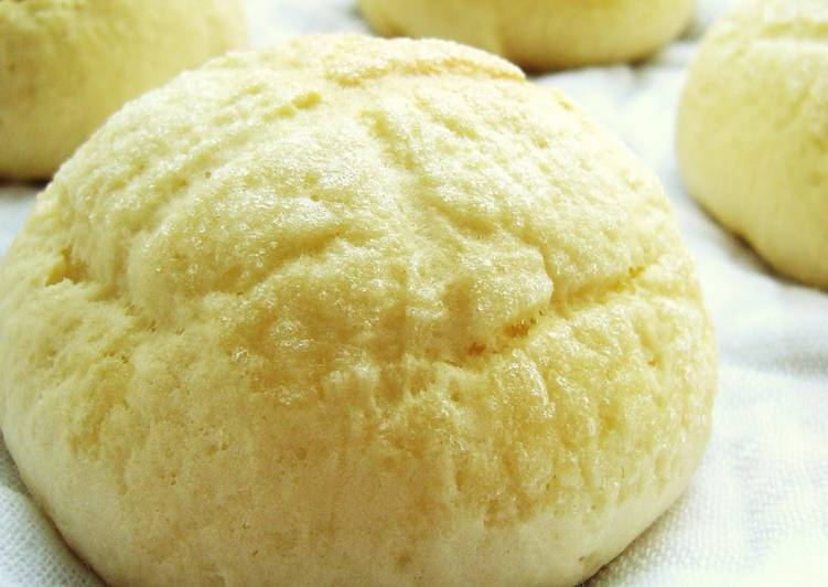 Easy Egg-Free Melon Bread