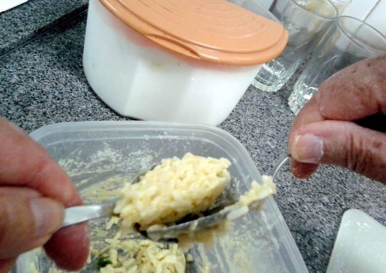 Grandma's little rice cake