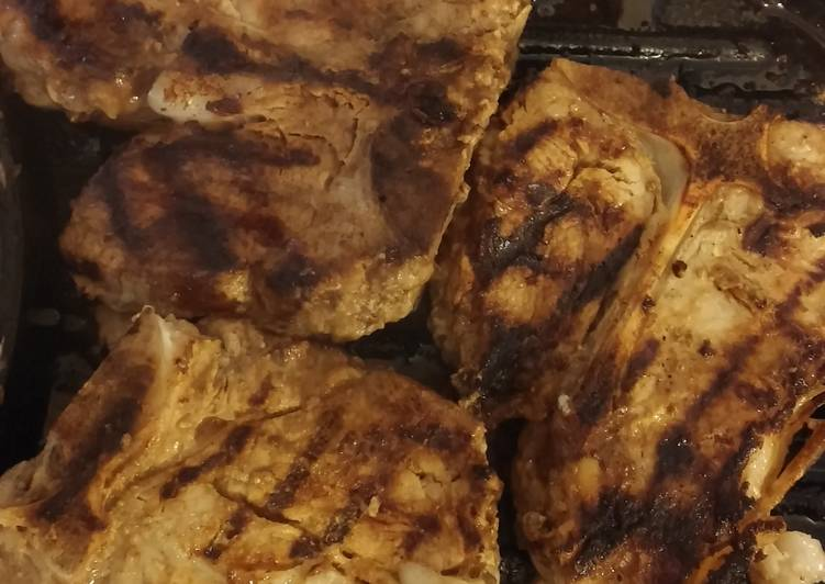 Tami's Grilled Veal Chops