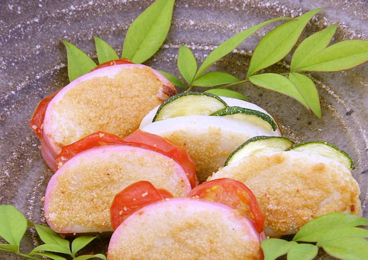 New Secret Beer Snacks for Father's Day: Toasted Kamaboko Fish Cakes with Spicy Mentaiko Free Download