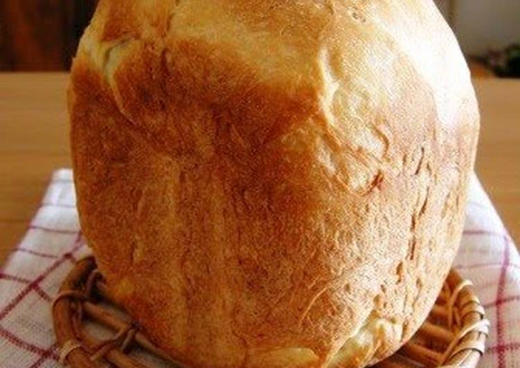 Oil-free, Moist & Chewy Sandwich Bread Made in a Bread Maker!