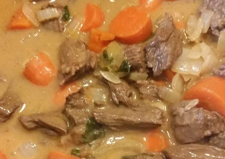 Thai Curry Beef