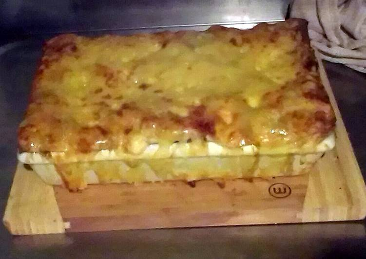Recipe: Tasty Our Vegetable Lasagne