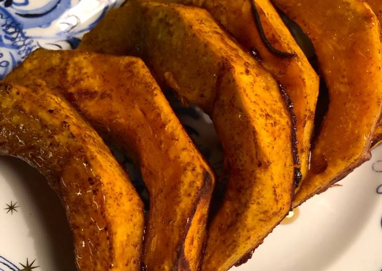 Maple cinnamon squash - vegan