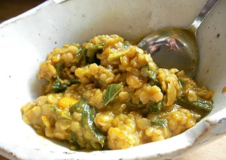 Easy Meal Ideas of Vegan Kabocha Squash & Lentil Curry