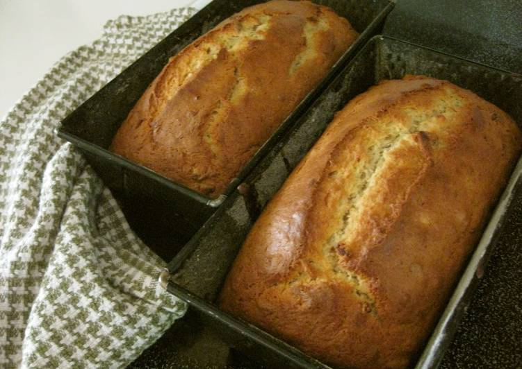 Simple Way to Make Most Popular Just-Mix Banana Bread